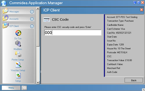 icp client - card security code